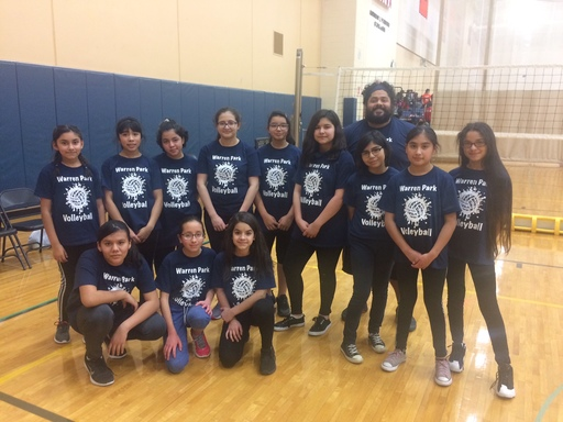 6th Grade Girls Volleyball Intramurals