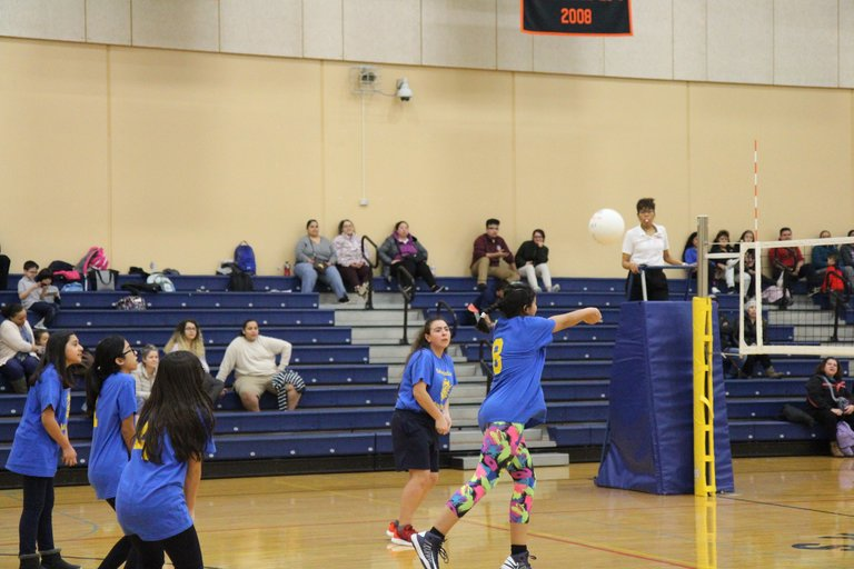Sixth-grade face-off: District 99 girls compete in intramural volleyball tourney