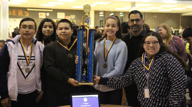 Pride in STEAM: District students compete in academic challenges