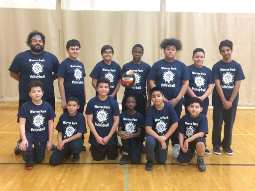 6th Grade Boys' Volleyball Intramurals