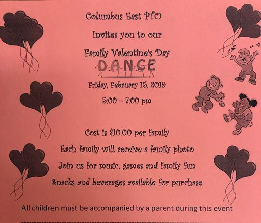 PTO Family Valentine's Day Dance