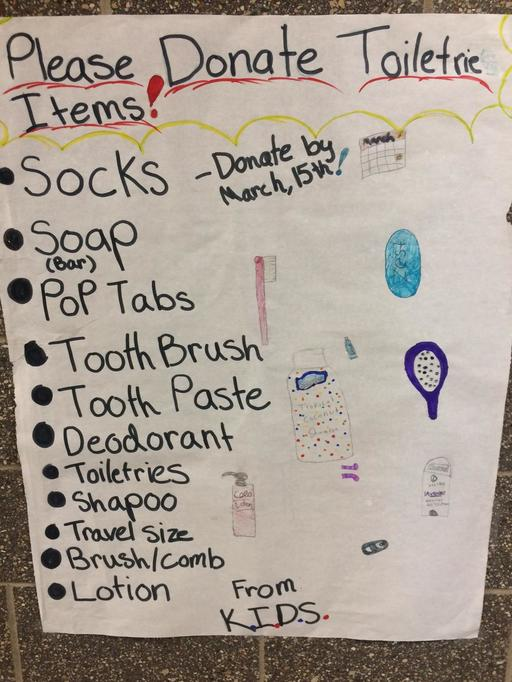Warren Park Service Club is Collecting Donations