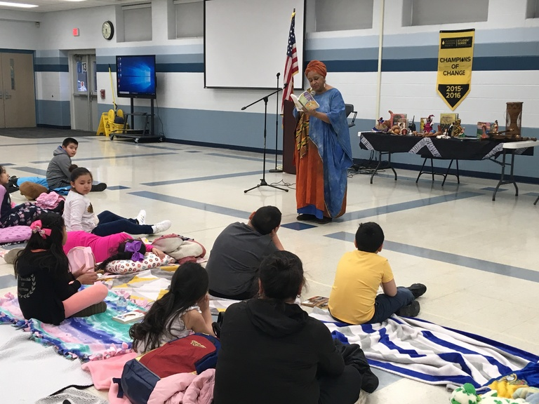 Twice the fun: Columbus East, West celebrate reading in English and Spanish