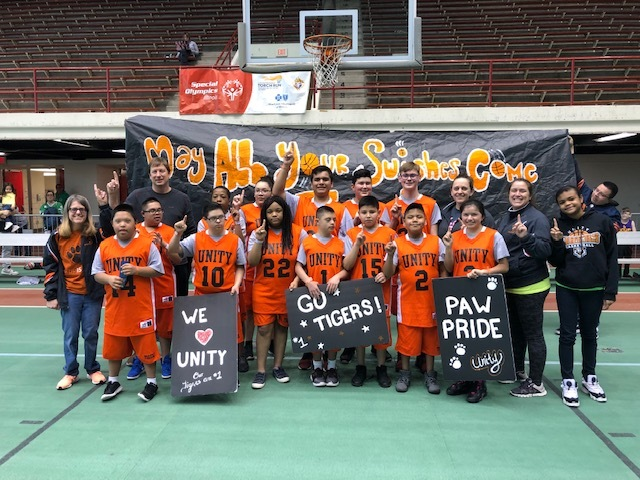 They've done it again: Unity Special Olympics basketball team wins second state championship