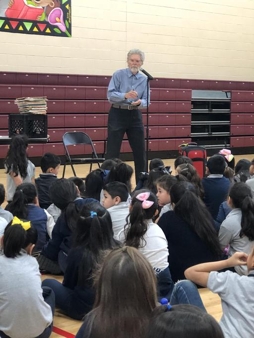 Author Visits Wilson!
