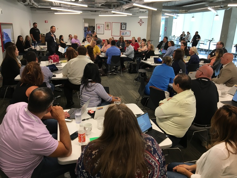 Taking Cicero to the city: D99 admin travel to Google Chicago HQ for professional development