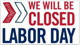 REMINDER: No School September 2nd for Labor Day!