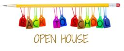 OPEN HOUSE IS MONDAY OCTOBER 7TH