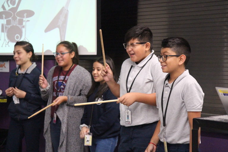 School culture through song: Warren Park students compete for new school song