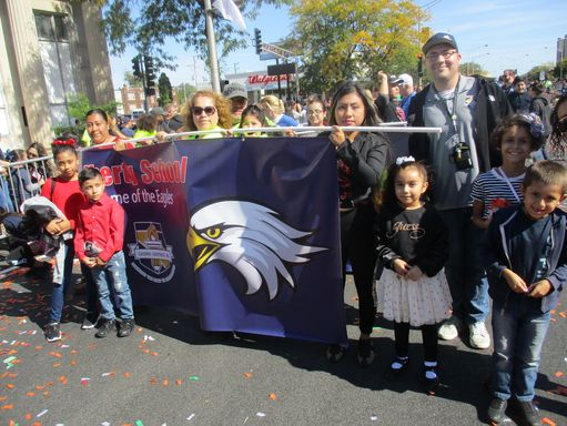 Liberty School at the Houby Day Parade