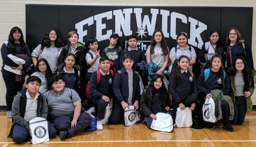 Wilson Shines at Fenwick Middle School Science Contest!