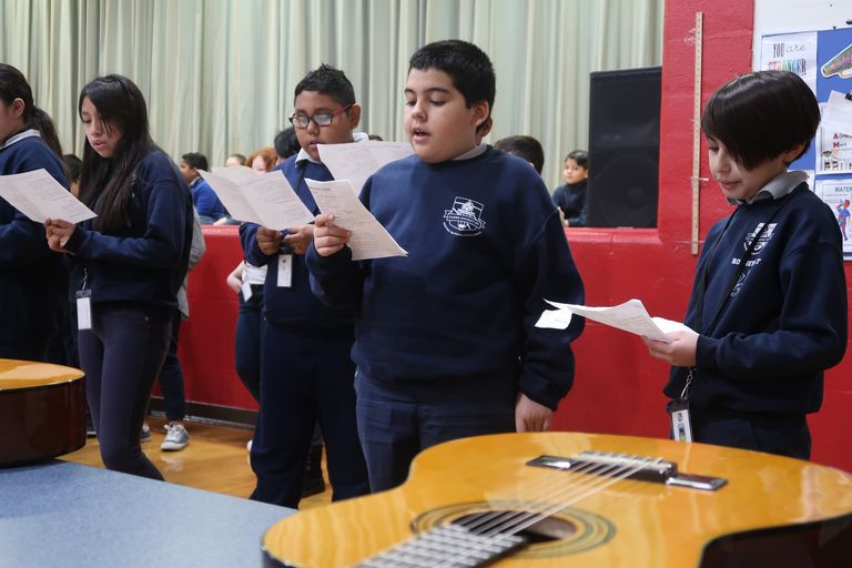 Second semester sounds: Roosevelt students showcase talent with music concert