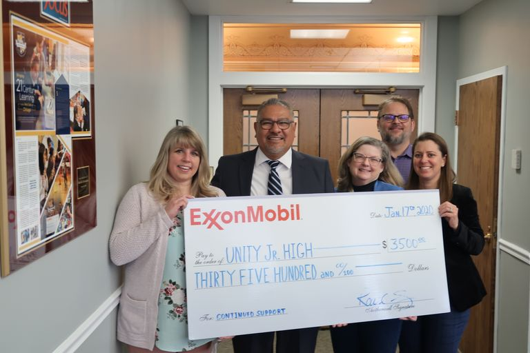 Fueling the road to excellence: ExxonMobil donates $3.5 K for D99 initiatives