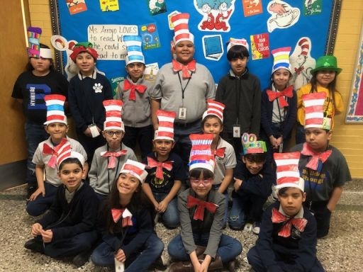 Dr. Seuss Week is Celebrated