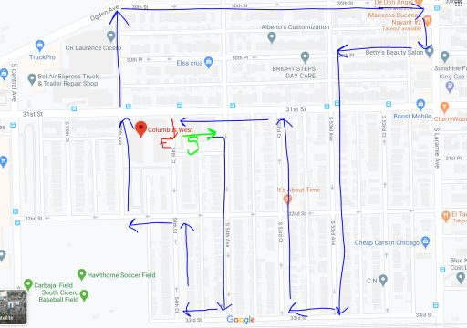 April 10th Parade Route