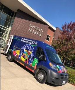Not in person but still in need: Lincoln students, teachers receive hundreds of dollars worth of school supplies and personal items