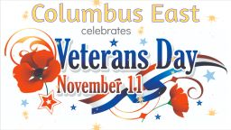 Columbus East Celebrates Veterans Day