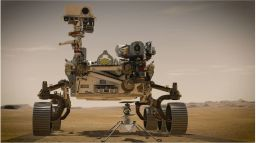Rover Lands on Mars!