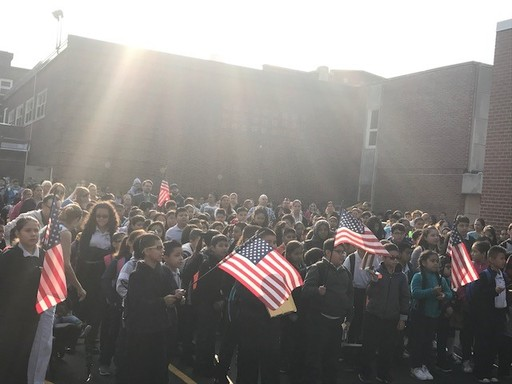 Cicero West and Cicero East gather for 9/11 Remembrance