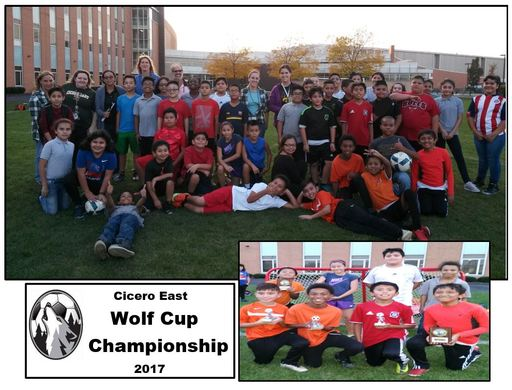 Cicero East Soccer Wolf Cup Championship