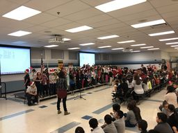 Wildcat Choir and Ukulele Club Performs Their Holiday Program