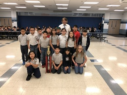 205 Mr. Dochoff's Homeroom are Columbus West's Multiplication Bee Champions