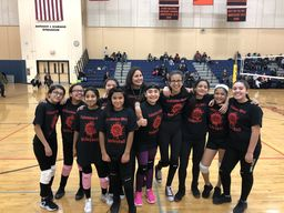 6th grade Intramural Girls become Volleyball Champions
