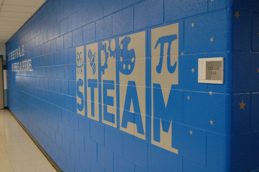 Columbus West Elementary S.T.E.A.M Lab Ceremonial Ribbon Cutting
