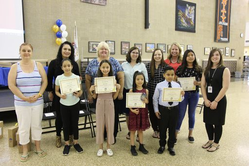Lincoln Outstanding Student Award Recipients