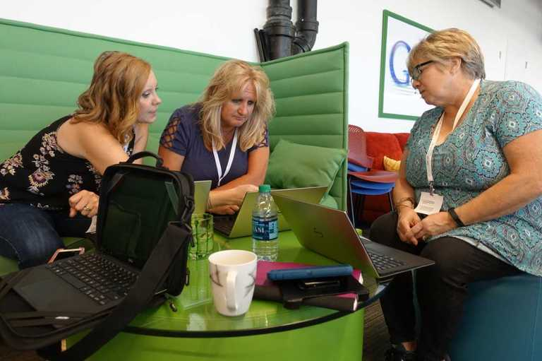 'Outside the box': D99 administrators visit Google for professional development seminar