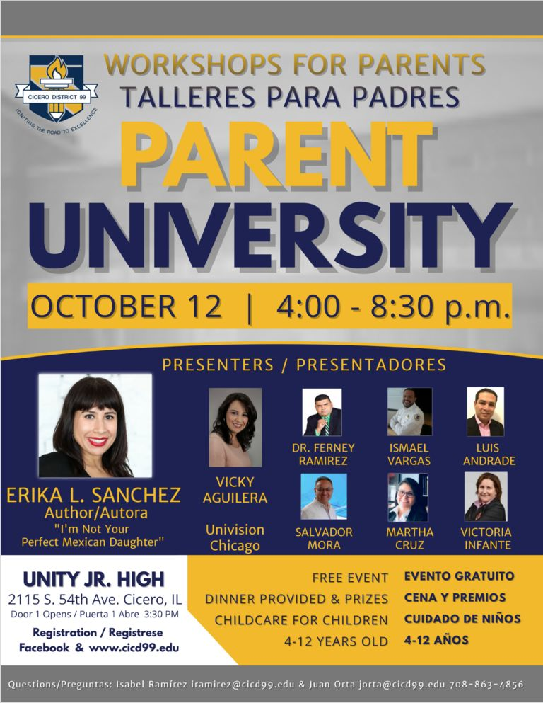 Parent University Fall 2018
