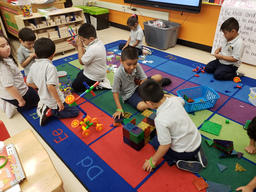 Kindergarteners Play with a Purpose at McKinley