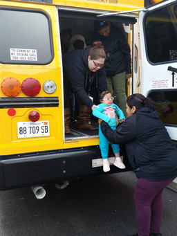 EC Center Bus Evacuation Drills