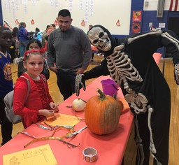 Burnham Monster Mash Math Night