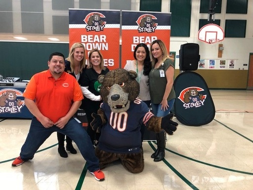 Staley the Bear, Bares down on Bullying