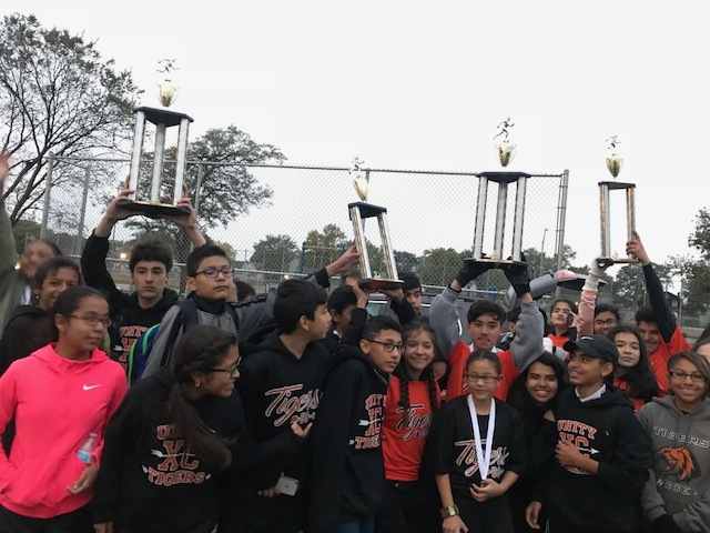 Tiger runners set bar high during inaugural cross country season