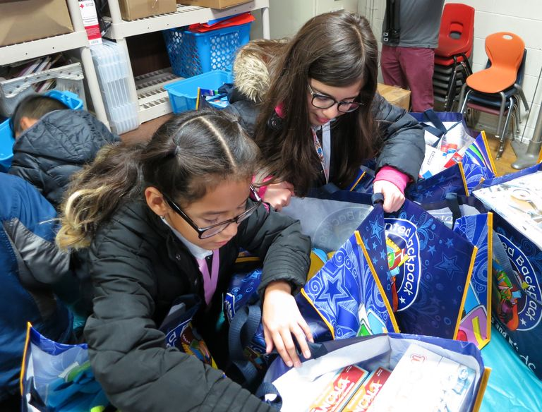 A magical gift: Drexel receives hundreds of dollars in supplies for students, teachers