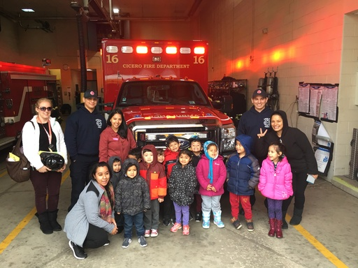 Ms. Carnegie's PM Class Trip to the Fire Station