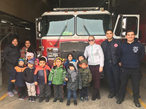 Ms. Carnegie's AM class visited the Fire Station