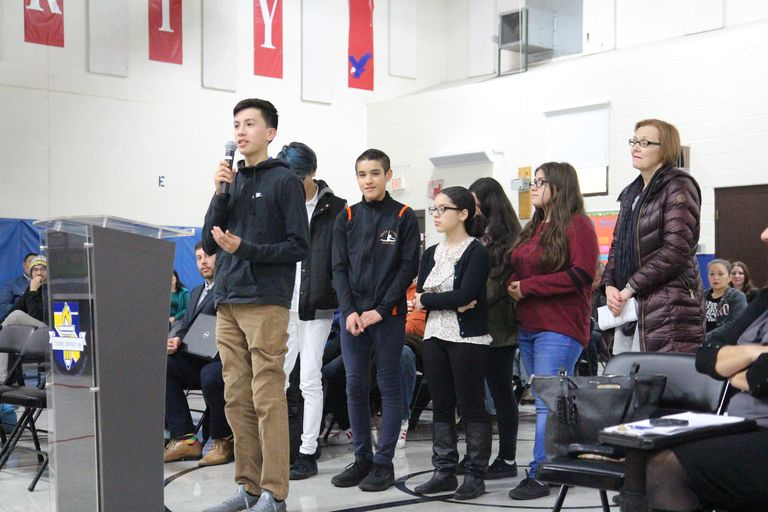 Accolades and applause: Scholarship winners, Cicero-native staffers recognized at board meeting