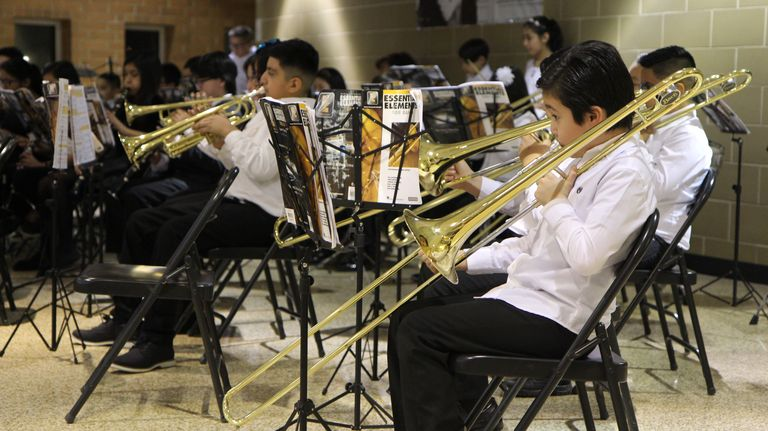 The sound of students: D99 student bands perform annual winter concert