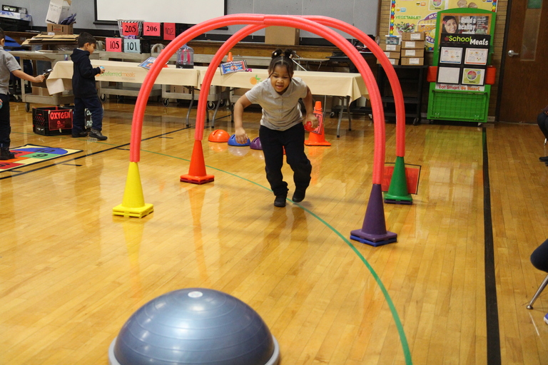 Course of chambers: McKinley students get active while learning about the heart