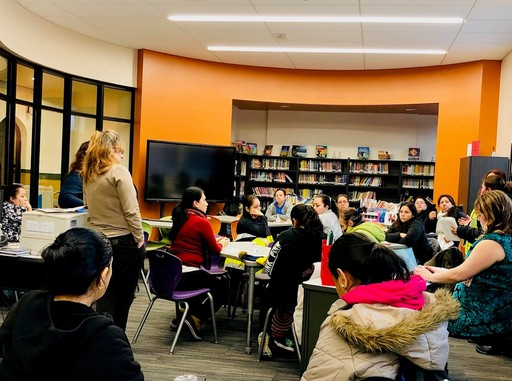 Cicero East and Cicero West meet with Parent Patrol